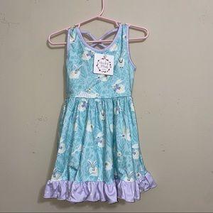 NWT Cheeky Plum Easter Bunny Dress